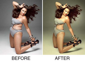 model pre and post